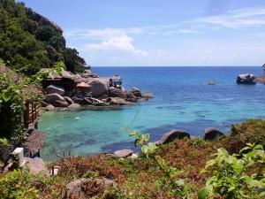 Bucht von Koh Tao mit Kindern erleben