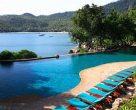 Hotelpool auf Koh Phangan