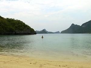 Strandbucht von Koh Samui
