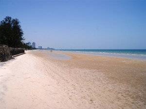 Thailand Highlights: Strand in Hua Hin