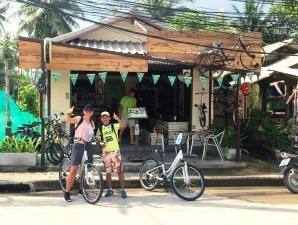 Radtour auf Koh Phangan