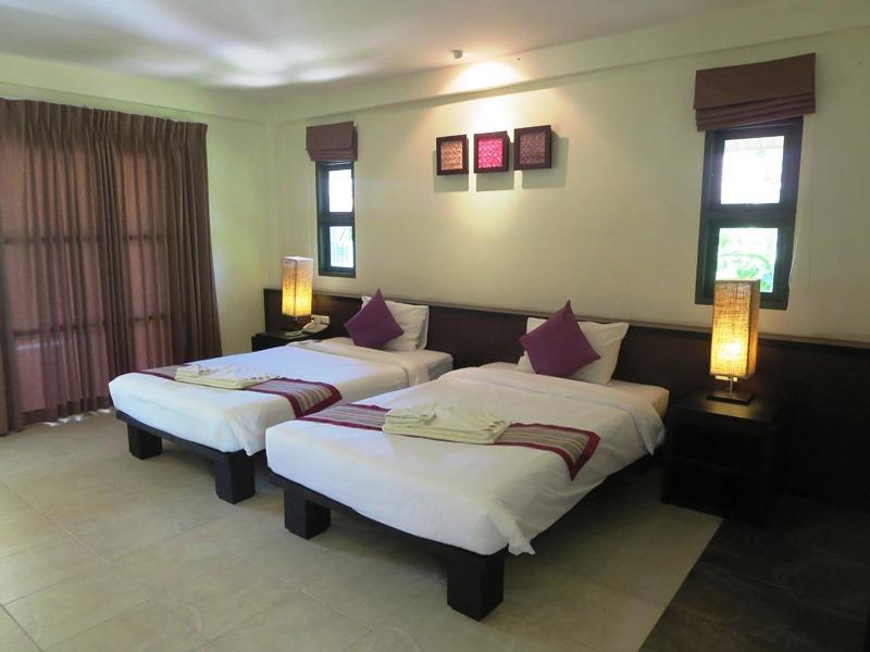 Khao Lak mit Kindern: Hotelzimmer