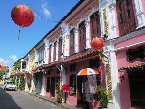 Phuket mit Kindern: Koloniale Gebäude