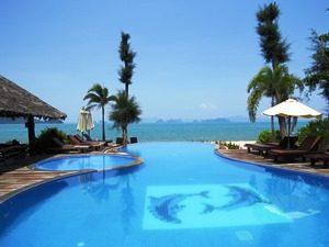 Hotelpool Koh Yao Yai Ost