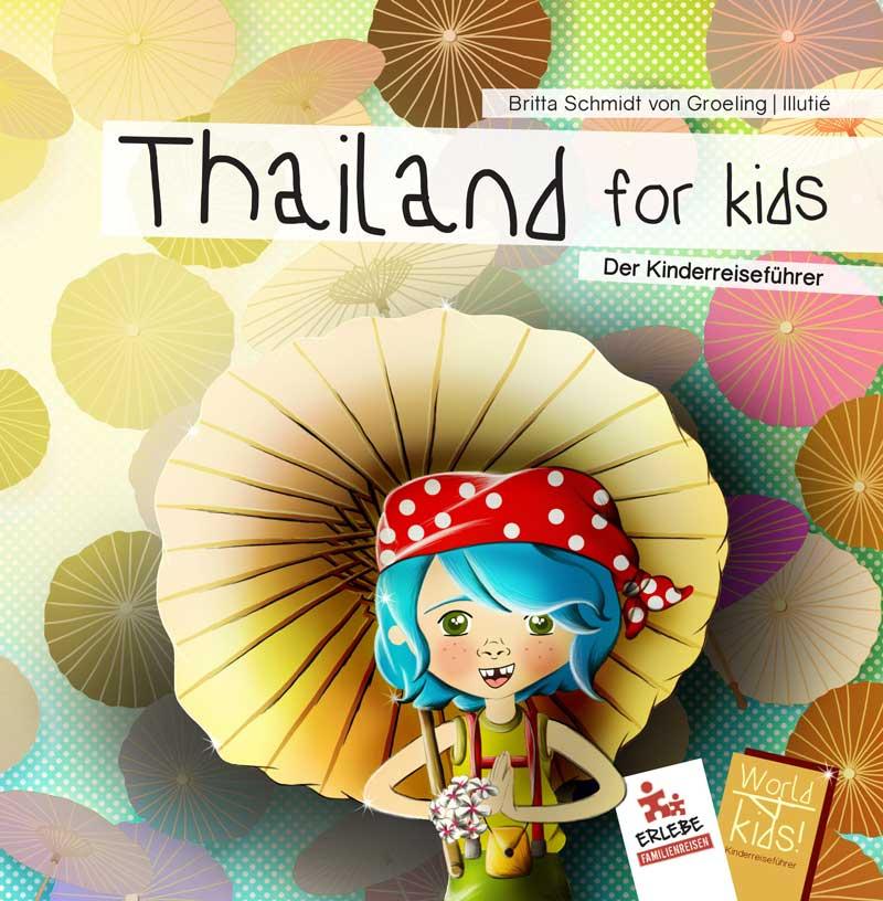Erhalten Sie bei jeder Buchung einen Thailand Reiseführer für Kinder
