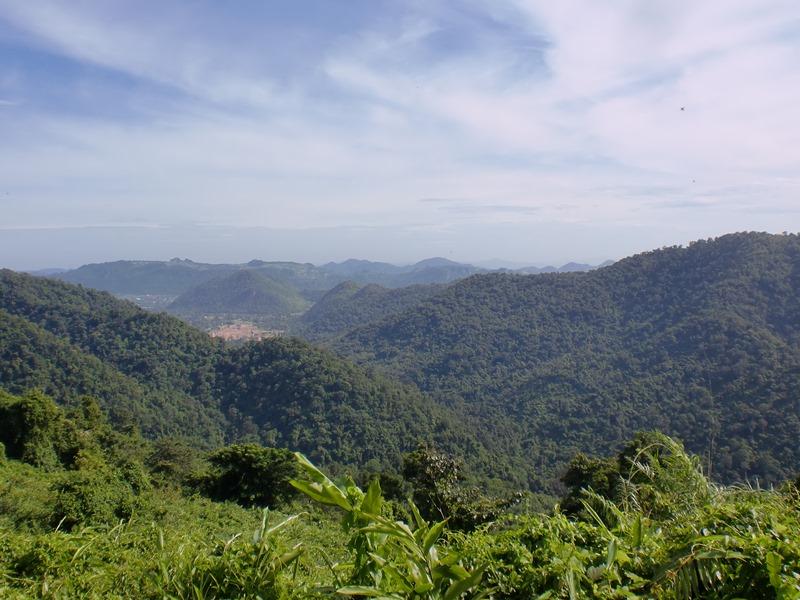 Grüne Hügel und Täler