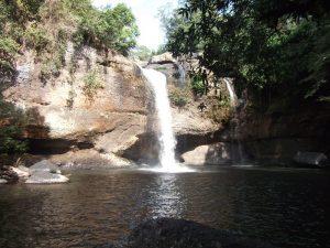 Eindrucksvolle Wasserfälle im Khao Yai Nationalpark