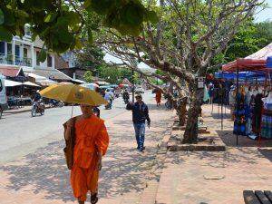 Straßenbild in Luang Prabang
