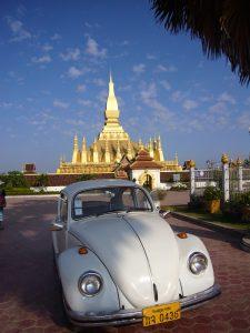 goldene Stupa in Vientiane