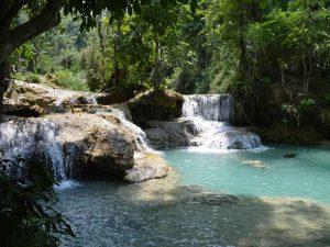 Wasserfälle von Kuang Si
