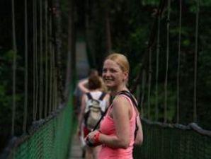 Reisespezialistin Janina