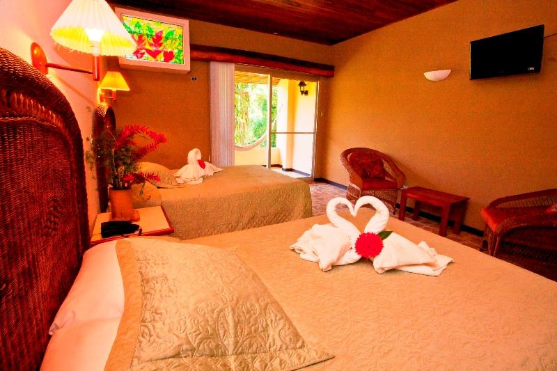 Ein Hotel Zimmer in Manuel Antonio.
