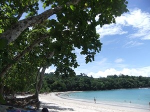 Costa Rica Rundreise: Strand im Nationalpark Manuel Antonio