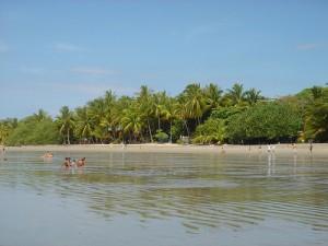 Strand in Sàmara