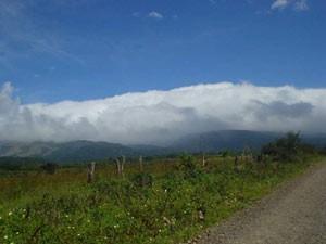 Aussicht auf grüne Landschft im Rincón de la Vieja National Park