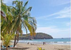 Tropischer Strand in Costa Rica