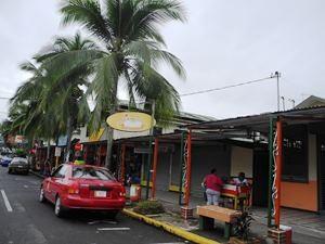 Strassenansicht in Sarapiqui
