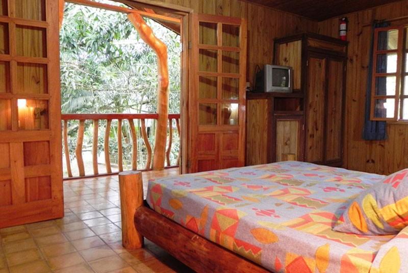 Ein Hotelzimmer in Cahuita