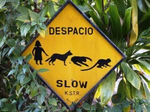 Costa Ricas Straßenschilder sehen anders aus