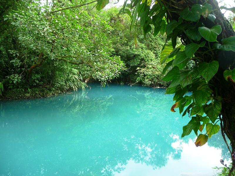 Eine blaue Lagune
