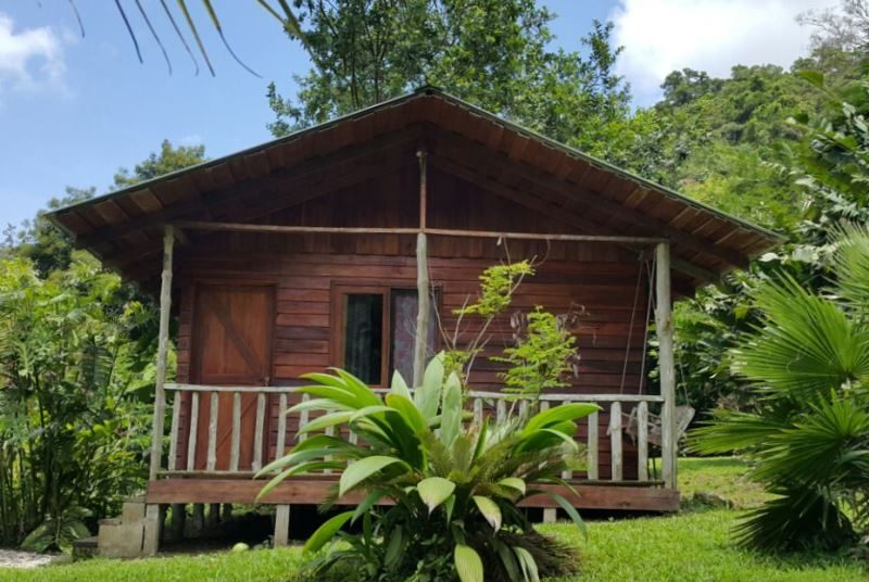 Bungalow beim Tenorio Nationalpark