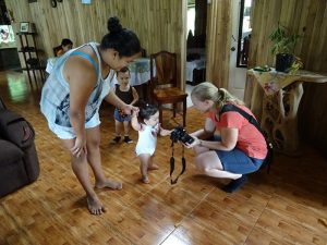 Familie beim Homestay in Costa Rica