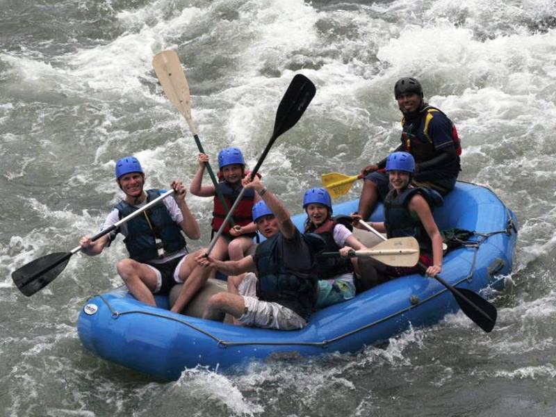 Rafting auf dem Sarapiqui River