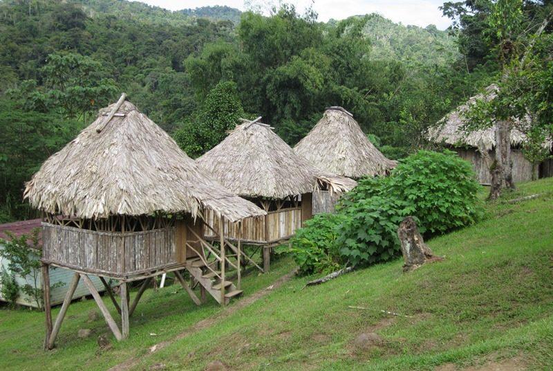 Bribri Costa Rica: Unterkunft Hütten