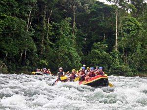 Rafting-Tour auf dem Pacuare Fluss
