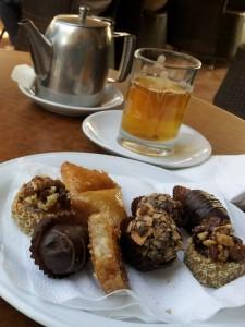 Süßes marokkanisches Gebäck