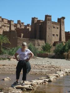 Kasbah in Ait Benhaddou