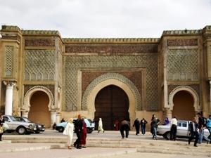 Bab Mansour Tor in Meknes