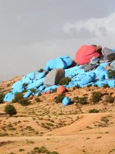 bunte Steine in Tafraoute