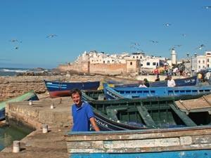 Marokko Reise Essaouira Hafen