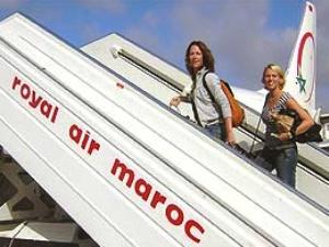 Flug mit Royal Air Maroc