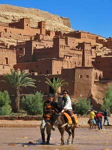 esel-fluss-eine-woche-marokko