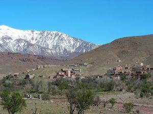 Marokko Rundreise Gipfel Atlasgebirge