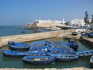 Marokko Rundreise Hafen Essaouira