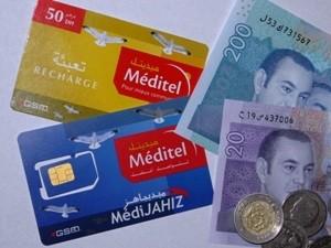 Marokkanische Telefon-/Simkarten