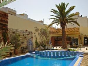 Blick in den Garten Ihres Hotels in Agadir