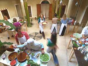 die marokkanische Küche kennen lernen