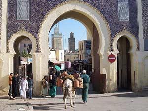 Königsstädte Marokko - Medina