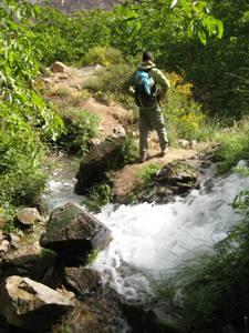 Quelle im Atlasgebirge