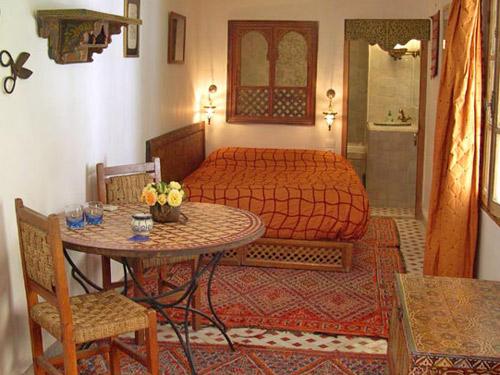 Riad in Marrakesch bei Marokko Reise