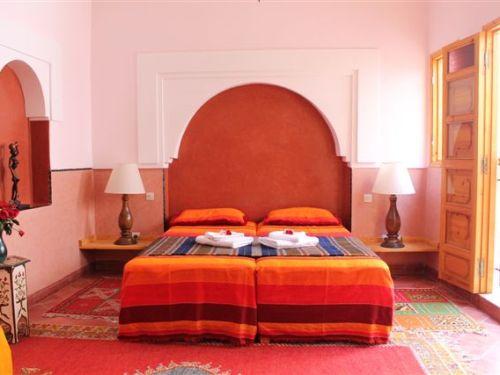 Marokko Rundreise - Zimmer in Marrakesch