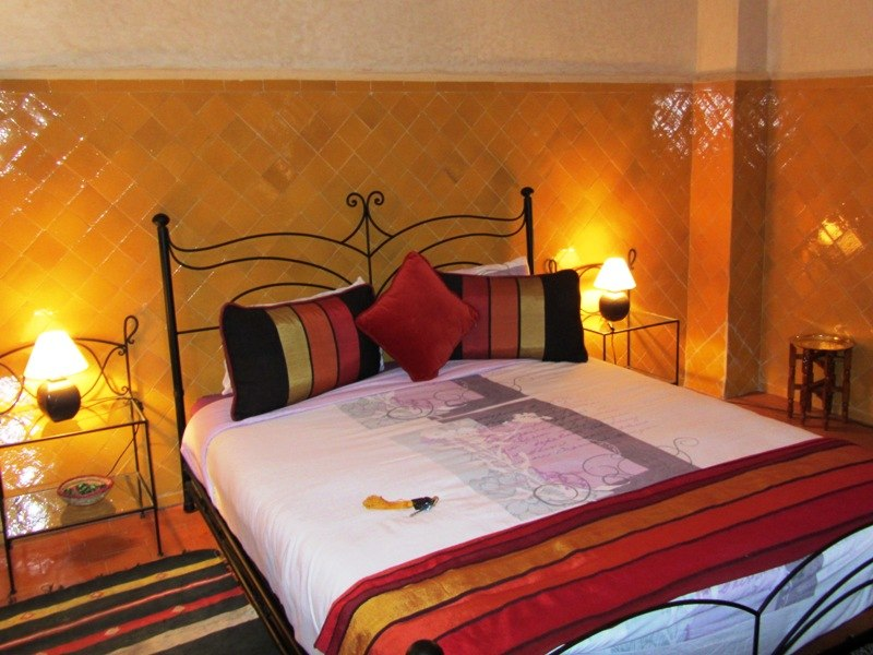 Marokko Rundreise - Zimmer in Riad in Taroudant