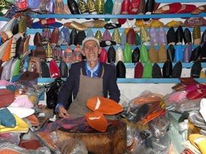 Souvenirs in den Souks von Agadir