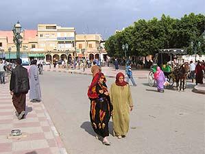 Straße in Taroudant