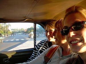 Taxifahrt in Marrakesch