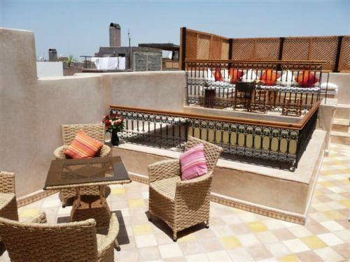 1 Woche Marokko Terrasse in Riad